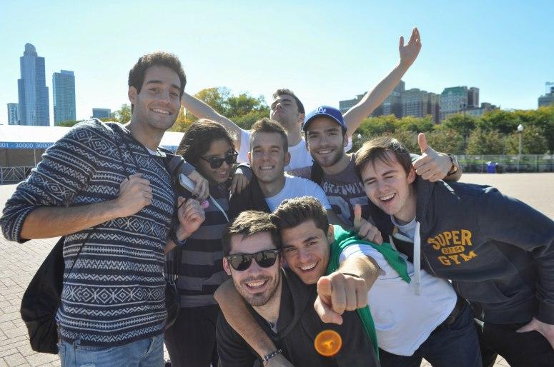 The wonderful people I spent my Fall Break with. Also know as Kappa Kappa Unicorn. F-t-B, L-t-R: Dani, Ramon, Pedro, Amal, Fran, Hamza, Jack, and Guille!