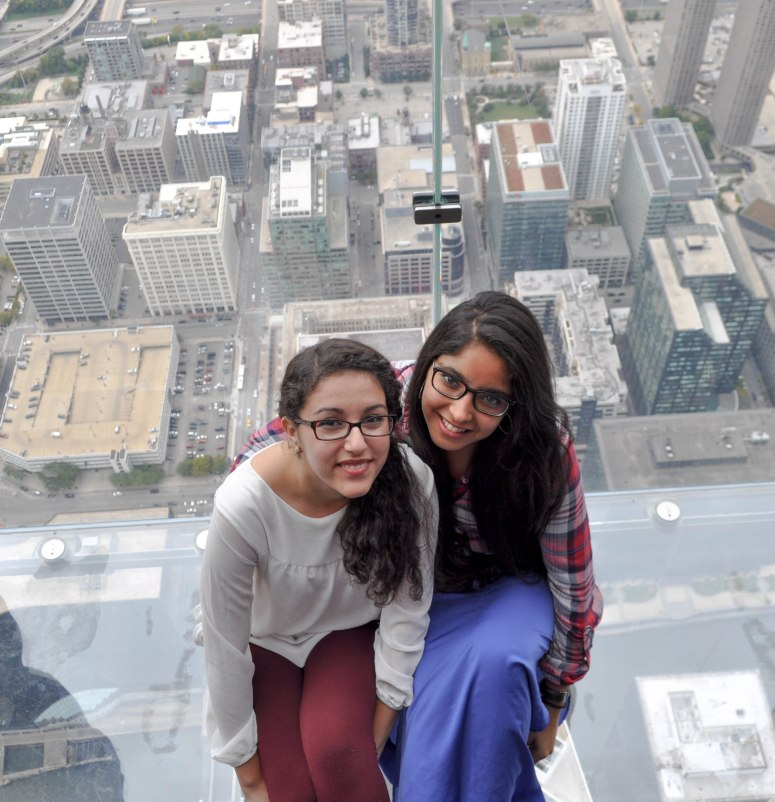 Amal and I, being adorable, again. Credits: Hamza Lamzadri