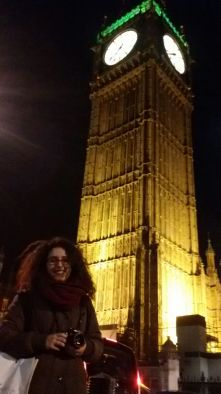 What is this you ask? The obligatory picture near the Big Ben of course!
