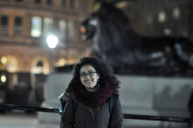 Yet another touristy picture by Sarah. This time in Trafalgar Square.