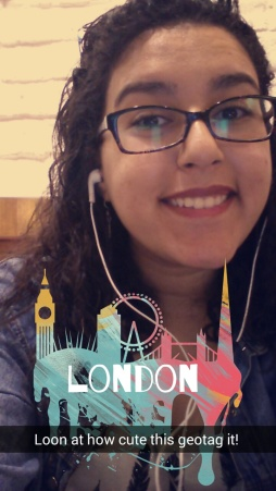 One of my last selfies from London with my favourite geotag!